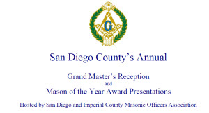 Grand Master's Reception San Diego
